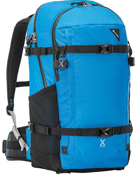 anti-theft backpack for adventures 40 liter volume